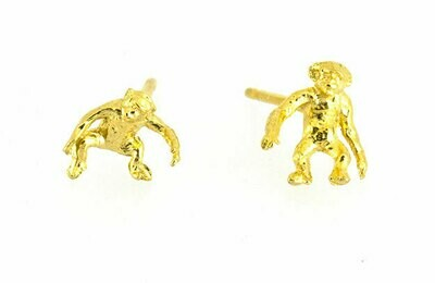 Cheeky monkey mismatched studs