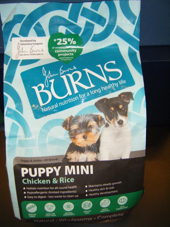 BURNS - Puppy Mini Chicken - 2KG