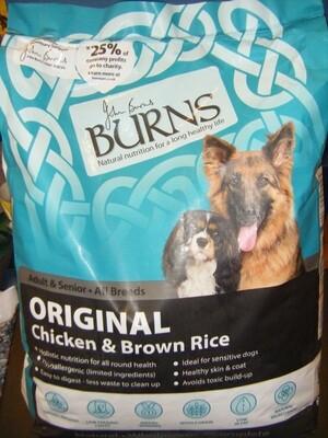 BURNS Chicken/Rice - Adult - 6KG