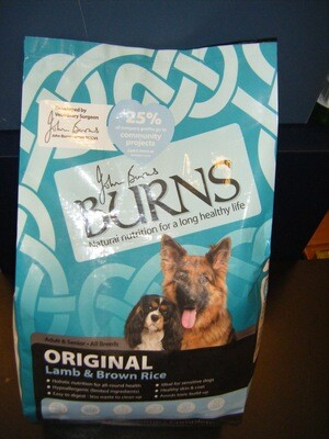 BURNS Lamb/Rice - Adult - 6KG