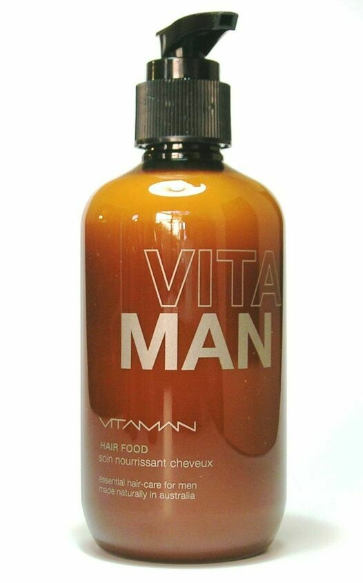 'VITAMAN - Natural Men's Grooming- Hair Food - Hair Thickener Powerful natural treatment to strengthen and thicken your hair.