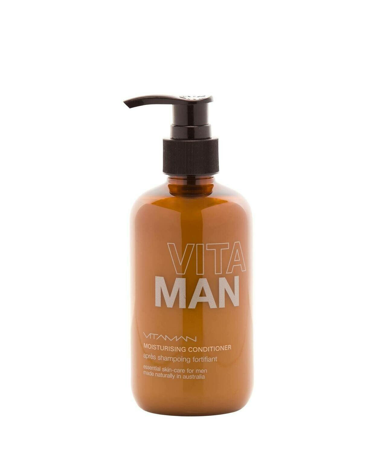'VITAMAN - Natural Men's Grooming- Moisturizing Hair Conditioner Moisturizes and hydrates your hair and scalp - treats brittle hair and dry scalp.