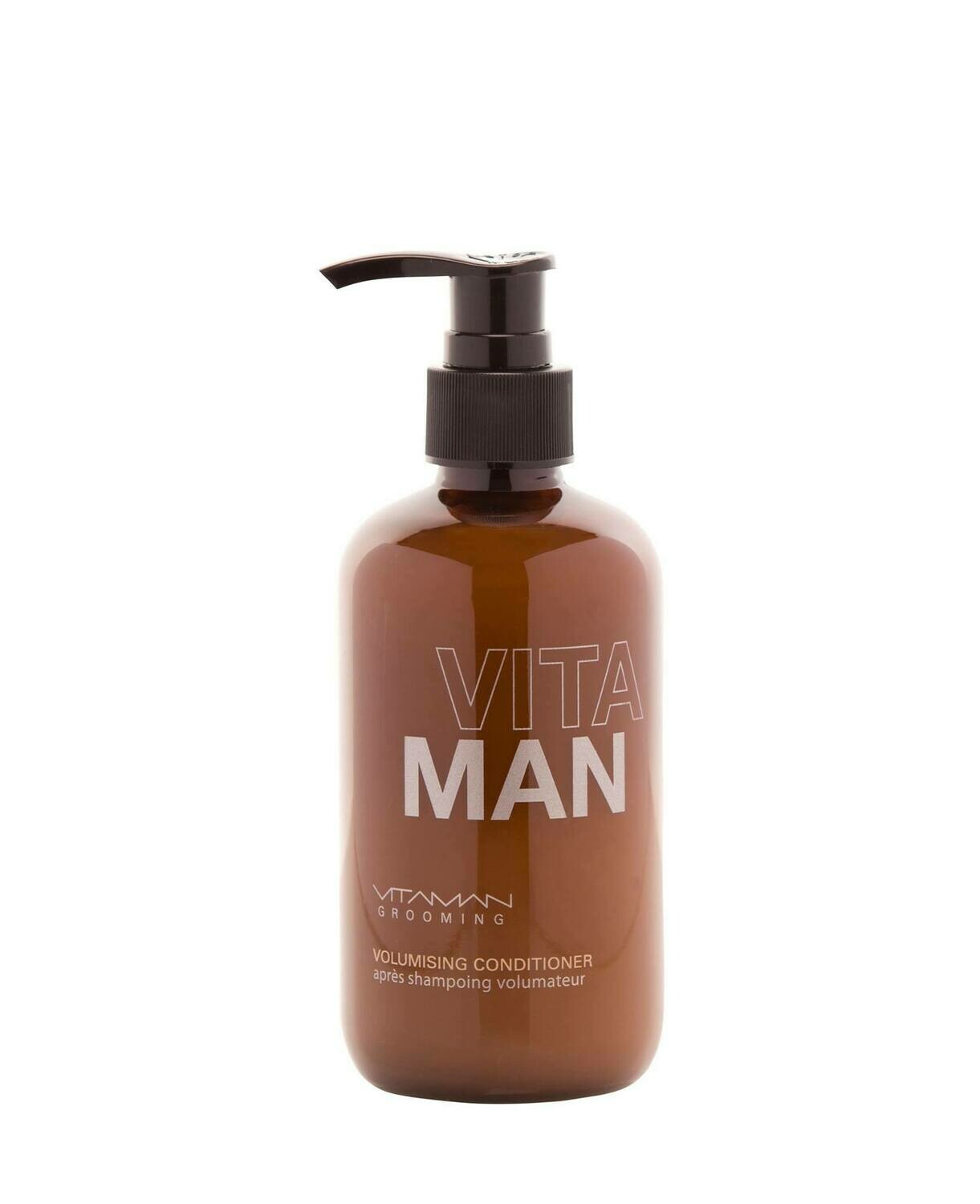 'VITAMAN - Natural Men's Grooming- Hair Conditioner For Thinning / Fine Hair Naturally strengthens and nourishes fine / thinning hair.