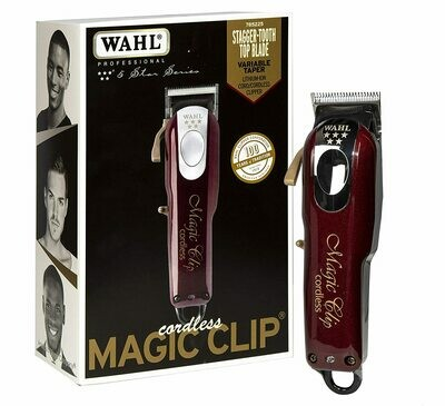 Wahl Professional 5-Star Magic Clip Cordless Hair Clipper for Barbers and Stylists #8148