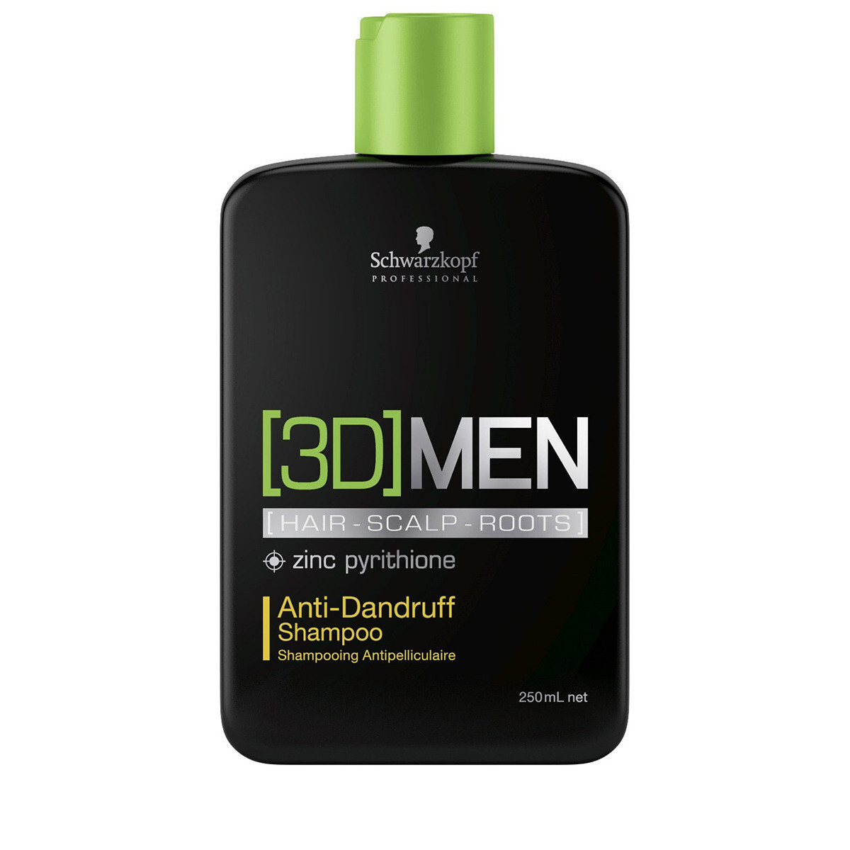 SCHWARZKOPF PROF. [3D]MENSION Anti-Dandruff Shampoo SIZE 250ml