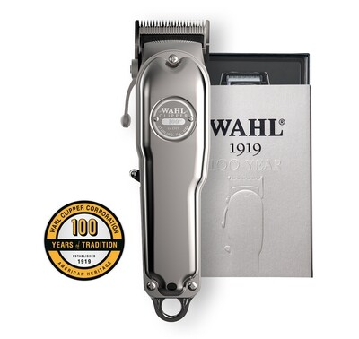 Wahl 100 Year Anniversary Clipper – Silver - 081919