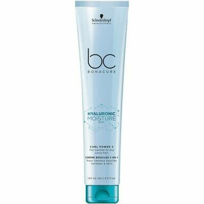 Schwarzkopf BC Bonacure Hyaluronic Moisture Kick Curl Power 5 in 1 125ml