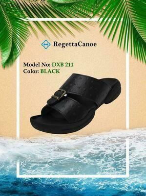 Regetta Canoe sandals classic black
