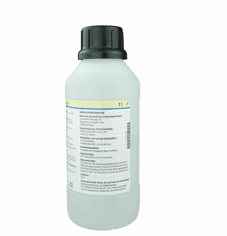 Formivar 60% (Ameisensäure) 1 Liter
