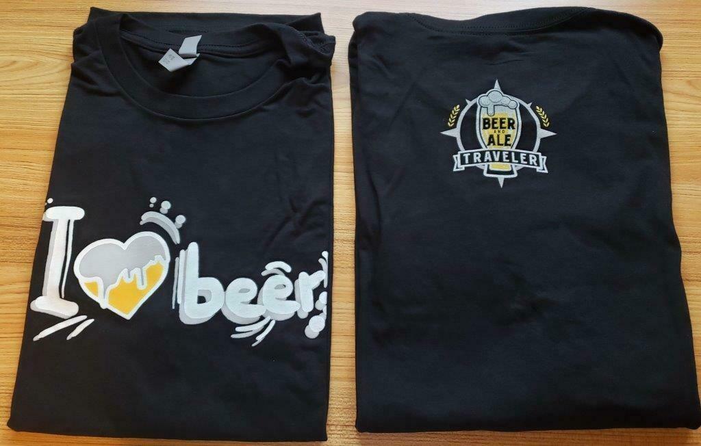 "T-Shirt ""I Heart Beer"""