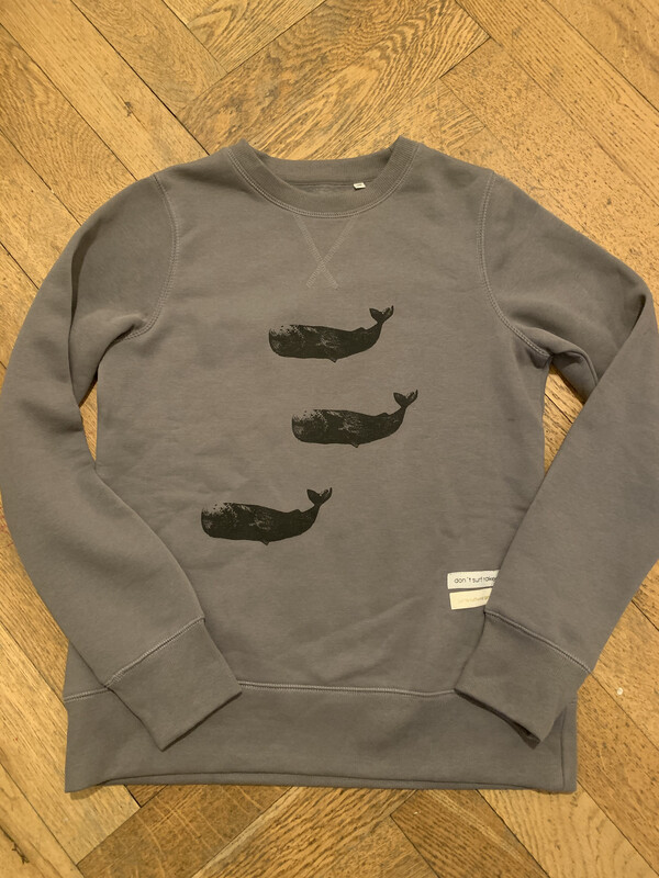 "SWEATER ""WHALE OF FAME"""