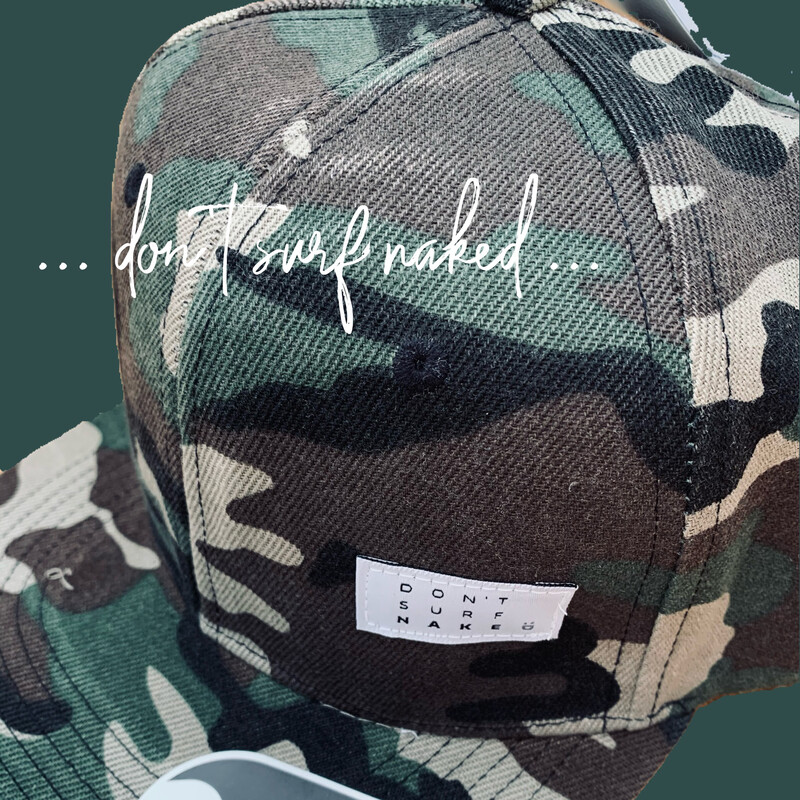 SNAP BACK CAP CAMO