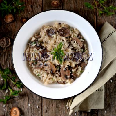 Risotto aux figues et au gorgonzola