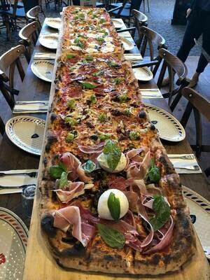 Pizza au mètre (minimum 50cm )