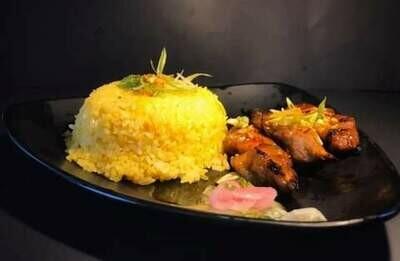 Pork BBQ Combo with Java Rice