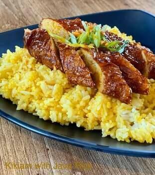 Kikiam with Java Rice