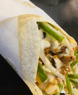 Pinoy Chicken Shawarma Wrap
