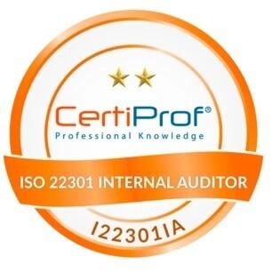 ISO 22301 Internal Auditor