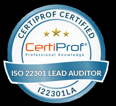 Examen ISO 22301 Lead Auditor