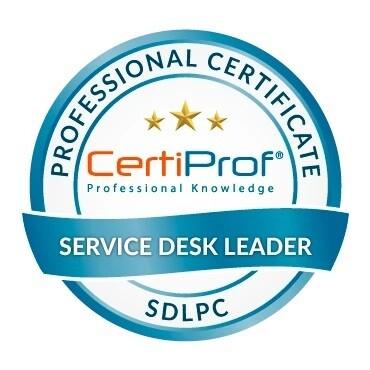 Examen Service Desk Leader Professional Certificate - SDLPC