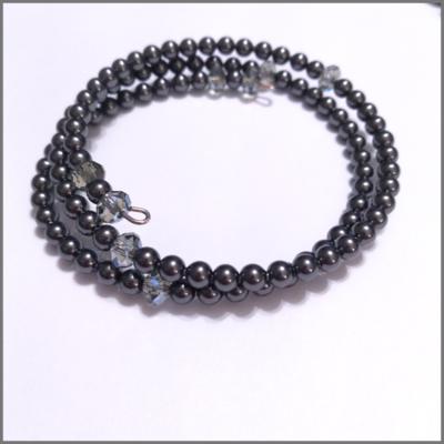 Swarovski Crystal Black Pearl Bracelet