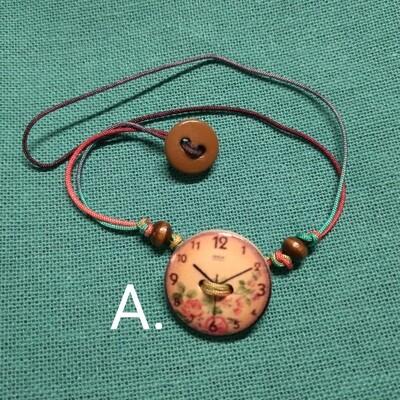 Button Bracelets - Time