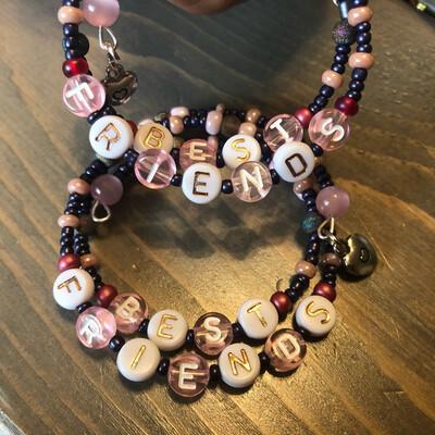 Girl's Best Friends Bracelets Pink/purple