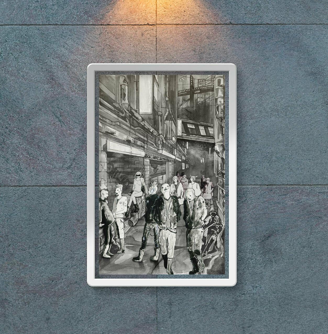 """Poster - Muter """"Punk Street"""""""