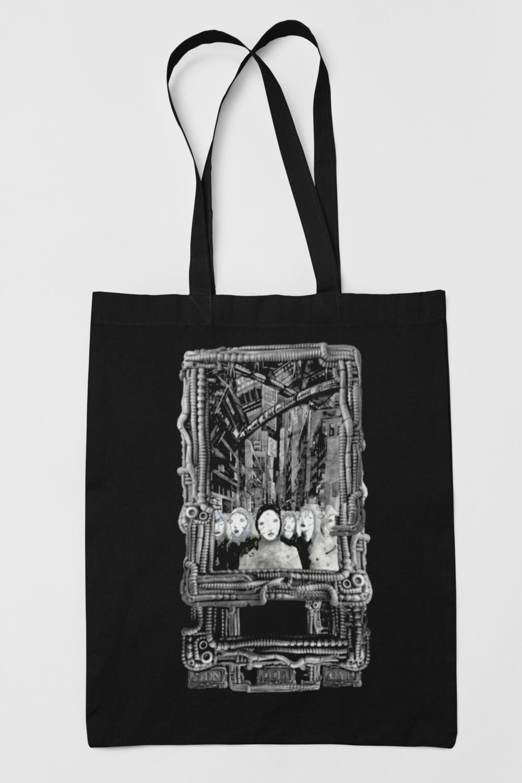 """Tote bag - """"Faces"""""""