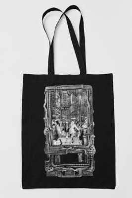 "Tote bag - ""Underground"""