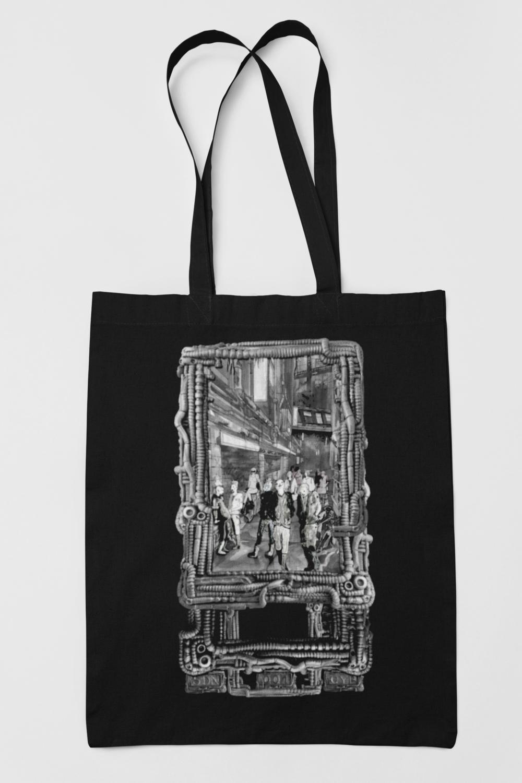 "Tote bag - ""Punk Street"""