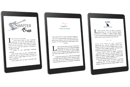 eBook Formatting Only