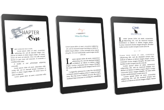 eBook & Paperback Formatting