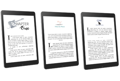 basic ebook paperback formatting