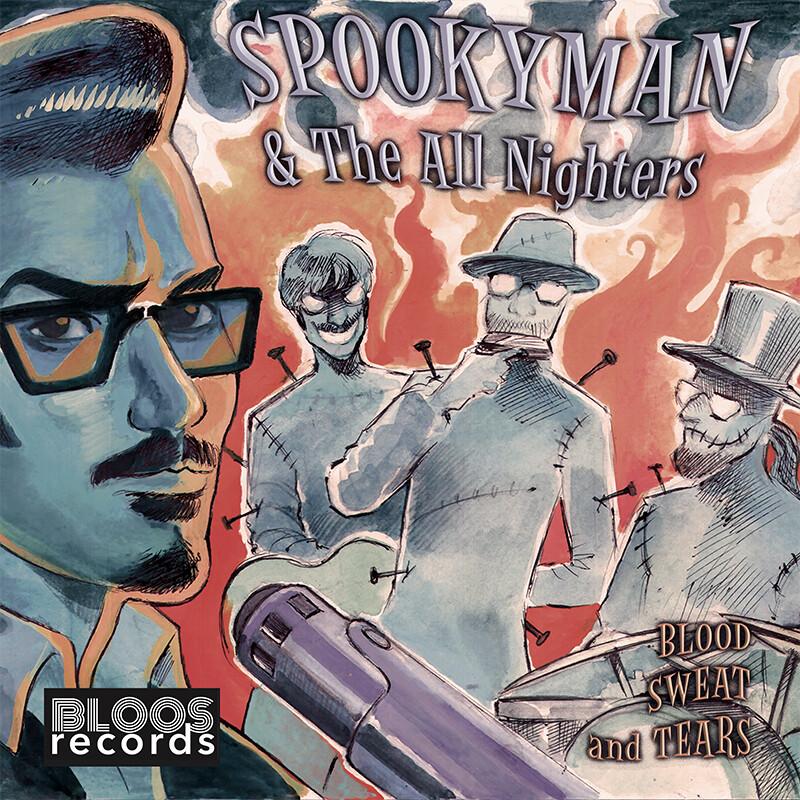 SPOOKYMAN - Blood Sweat and Tears (CD)