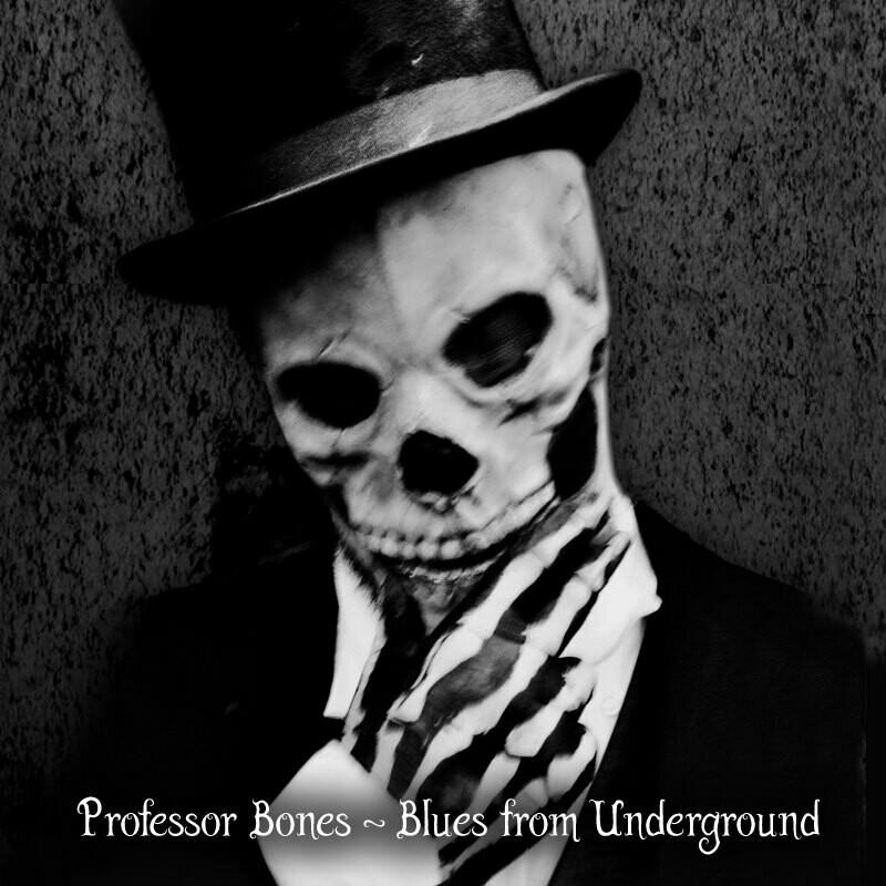 PROFESSOR BONES - Blues From Underground (2CD)
