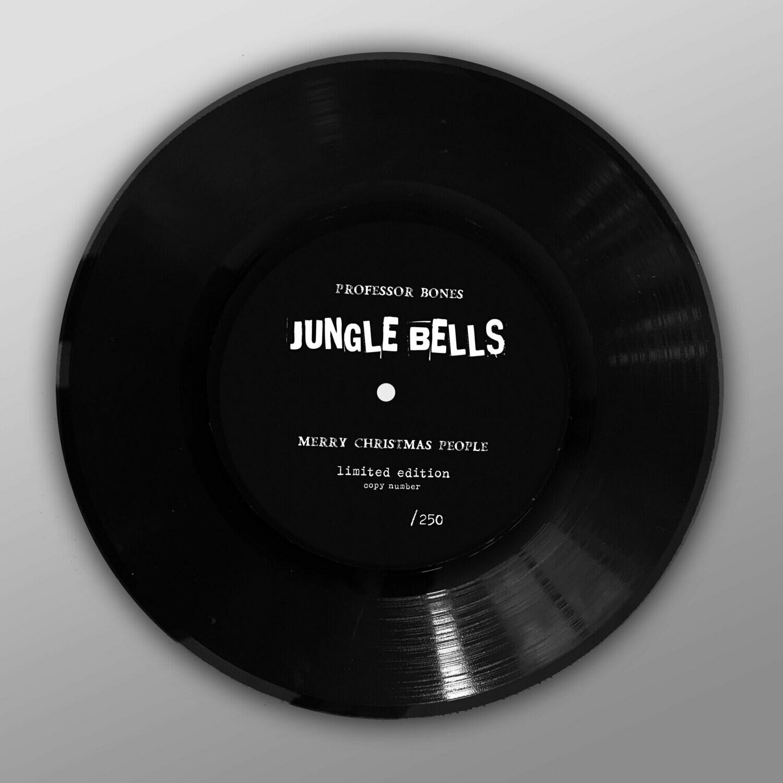"PROFESSOR BONES - Jungle Bells (SINGLE PAINTED VINYL 7"")"