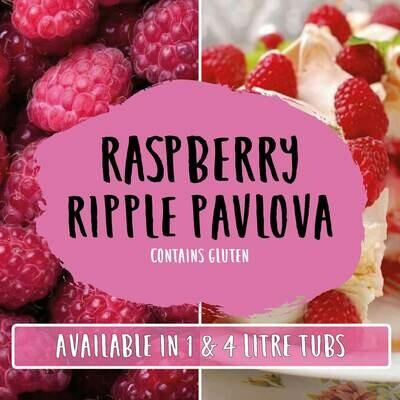 Marshfield Raspberry Ripple Pavlova