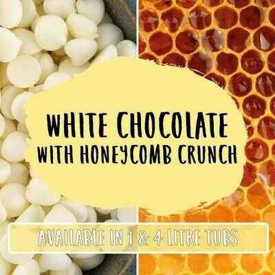 Marshfield White Chocolate with Honeycomb Crunch