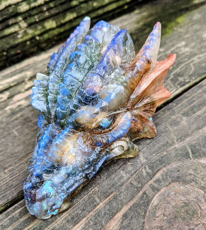 Gemstone Dragon Head