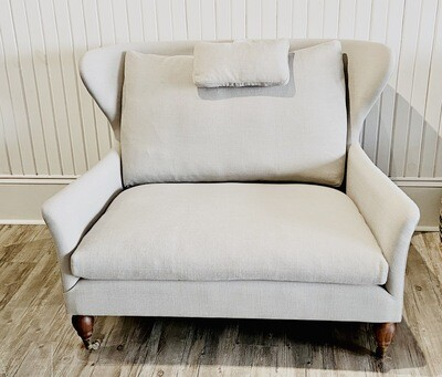 Lauren Stylish French Provence Wing Back Chair