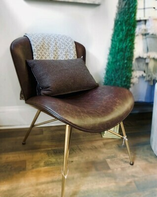 Faux Leather Chair