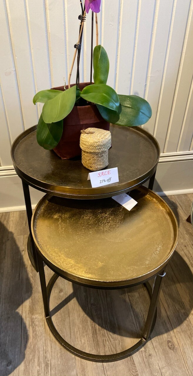 Round Metal Tables