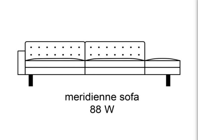 Hugo Méridiennes Sofa - 88