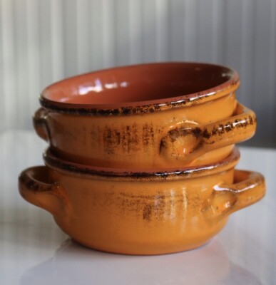 Orange Ceramic Bowl