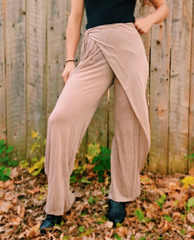 Spalmatore Basic Pants Mauve