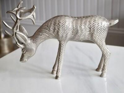 Silver Deer Decoration