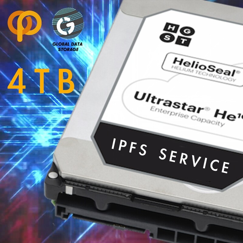 4TB  IPFS Service Contract IPFS 服務合约