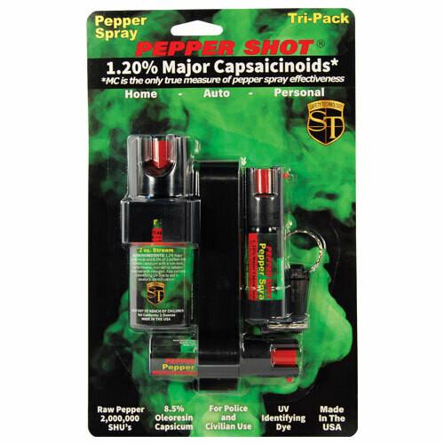 Tri-Pack Pepper Spray