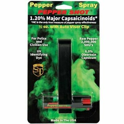 Pepper Spray For Auto Visor